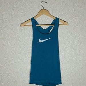 Nike Racerback Blue Tank Top